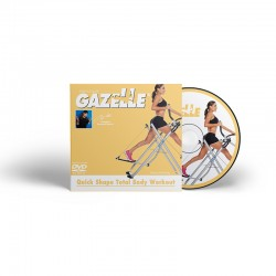 Gazelle workout with Tony little will get you in shape quickly