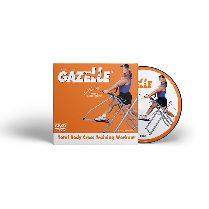 Tony little's gazelle cross training workout