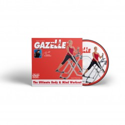 Gazelle mind and body workout with Tony Little with help to get you fit.