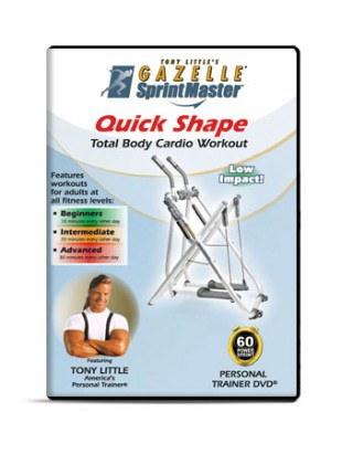 Tony Little's Quick Shape workout
