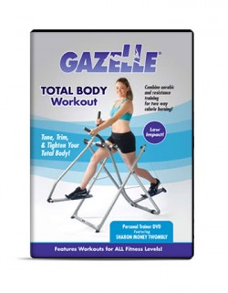 Gazelle Glider Total Body Workout DVD