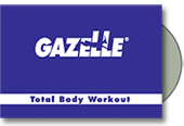 Total body trainer Gazelle Freestyle comes with the Total Body Workout DVD