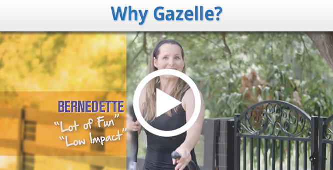 Why Gazelle Glider? See why Gazelle is both fun and effective!